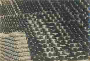 CHINA. Drying Clay Pots in Chihli, China. C1931