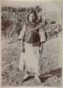 CHINA. Yunan Province, Nashi Girl. c1924
