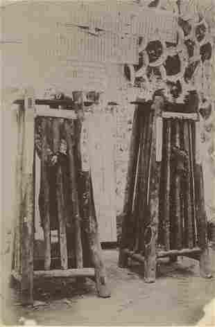 CHINA. Punishment by Strangulation, China. C1890