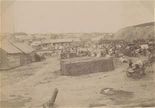CRIMEA. Market in Chabarovsk. c1890