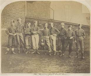 ENGLAND. Harrow School Football Eleven. C1870