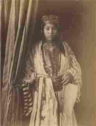 ALGERIA. Young Prostitute of the Bab-el-Oued, Algeria.