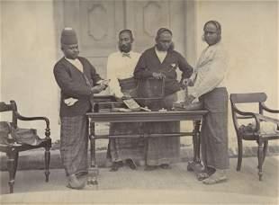 CEYLON. Jewel Merchants of Colombo, Ceylon. C1880