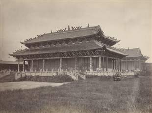 CHINA. Temple of Heaven, Canton, c1870