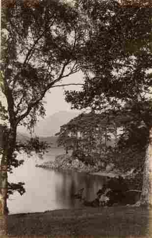 ENGLAND. Friars Crag, Derwent Water, Lake District.