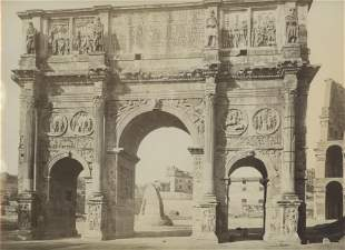 Arch of Constantine, Rome. C1880