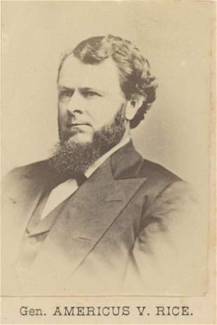General Americus V. Rice. c1870