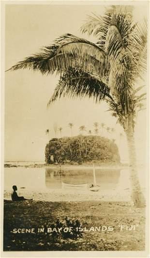 Bay of Islands, Fiji. C1930