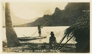 The Rain Maker, Samoa. c1930