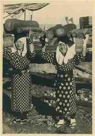 Korean Girls. c1950