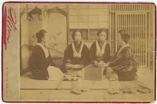 Madison Square Garden Japanese Village. c1895