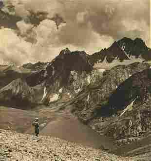 Glacier Lake – Vishensar, 12,600 ft. elevation,