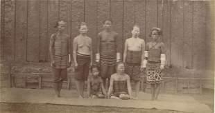 BORNEO. Albinos and Borneo Natives