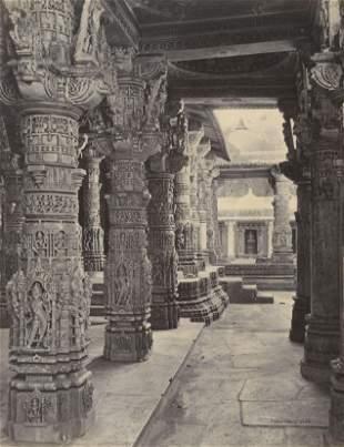 INDIA. Mount Abu; Jain Temple. C1870