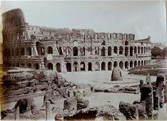 ITALY.  The Colosseum, Rome. C1880