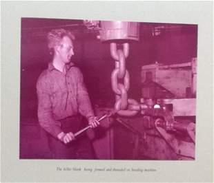ALBUM. BRITISH Steel Chain Co. Ltd. c1960