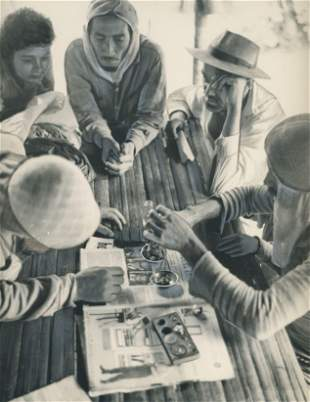 GOLD. Gold Miners selling gold, Brazil. C1963