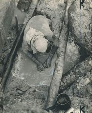 GOLD. Searching for Gold, Brazil. C1963