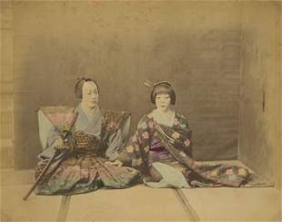 Samurai Wedding, c1875