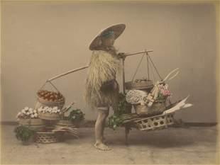 Vegetable Vendor. c1880