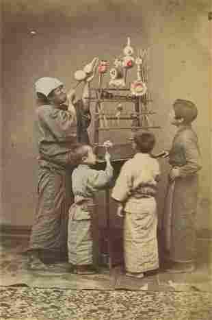 Balloon Seller. c1875