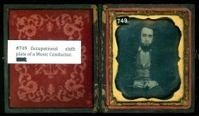Sixth Plate Daguerreotype Occupational