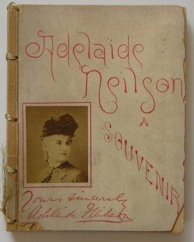 Souvenir Album Of Adelaide Neilson. 1885