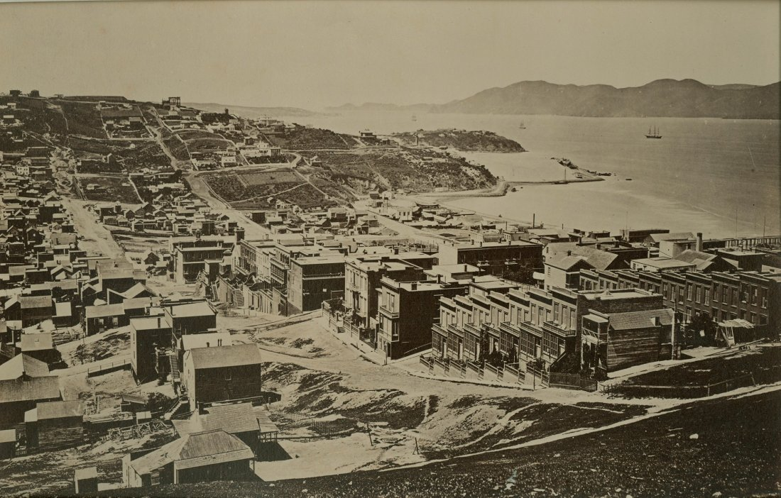 The Golden Gate from Telegraph Hill, San Francisco,