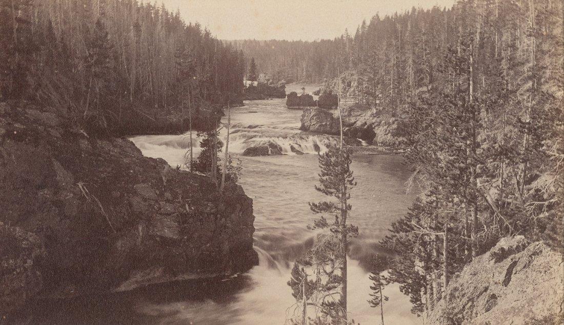 Rapids above Upper Falls, Yellowstone