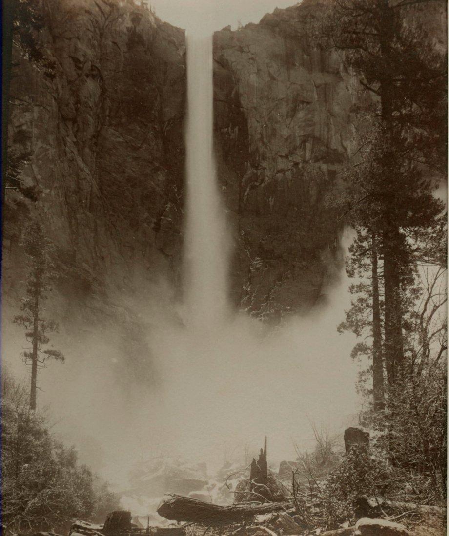 Bridal Veil Falls, Yosemite, c1880