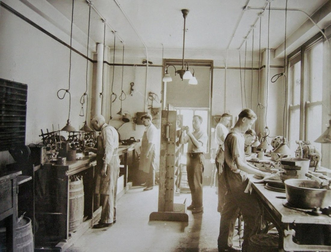 Industrial Photograph Album - Chicago Optical Co.