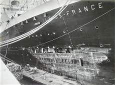 Photograph Album showing 11 days of repairs to Ocean