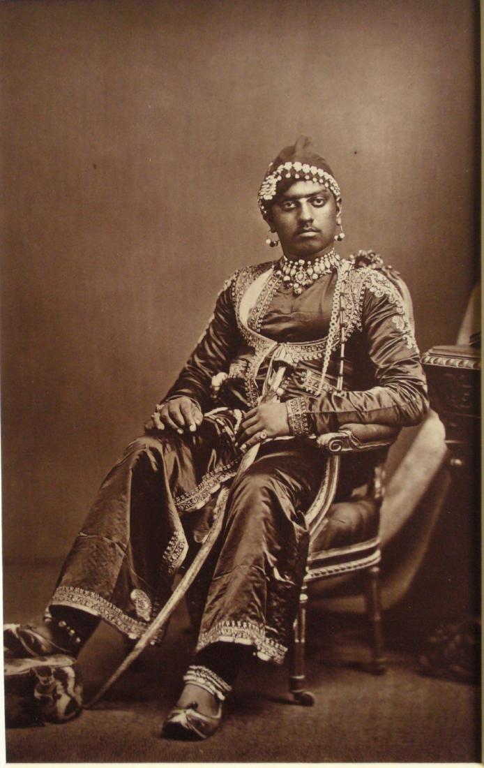 Maharajah, India. c1875