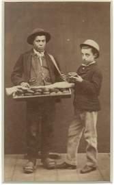 Pie Seller. Italy. c1865