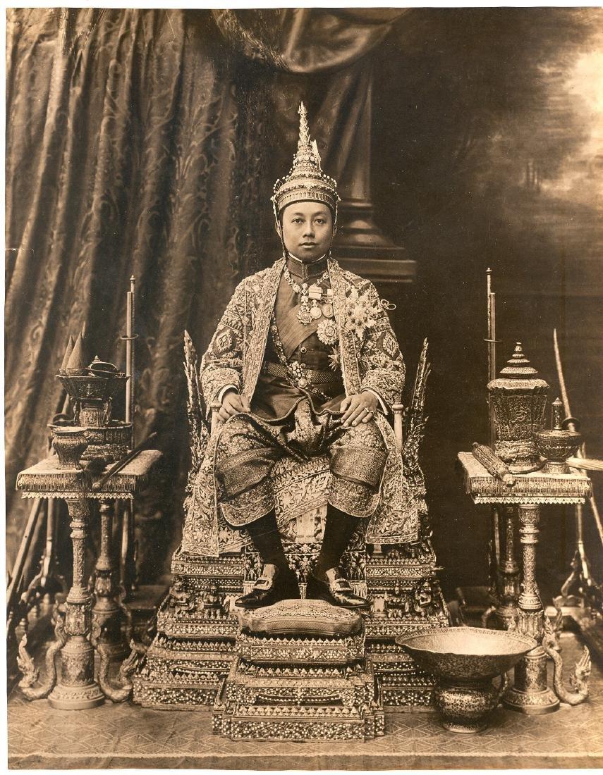 King, Siam. 1911