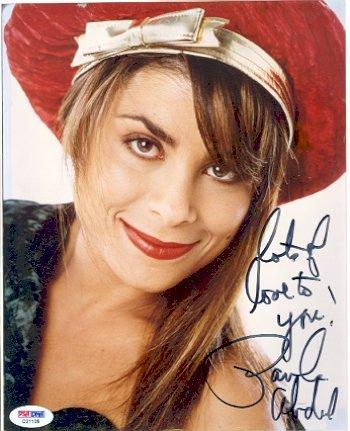 4: Paula Abdul Signed 8 x 10 Photo PSA/DNA