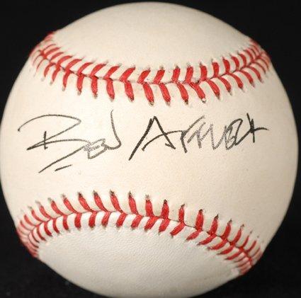 6: Ben Affleck Signed OAL Baseball GAI COA