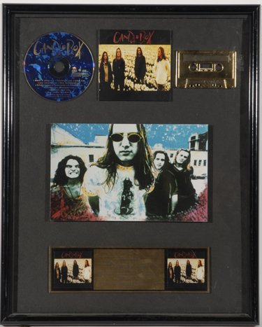 760: Candlebox Original Gold Record Award Display