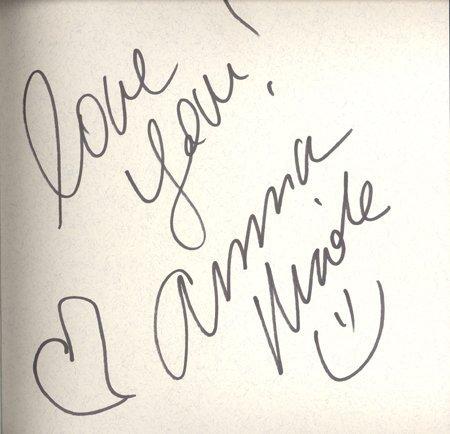 1: Anna Nicole Smith Signed 1995 Life Book GAI COA