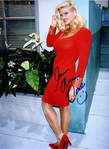 8: Anna Nicole Smith Signed Unpublished Photo GAI