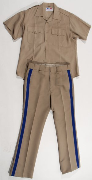 1046: CHiPs Erik Estrada Screen Worn Police Uniform
