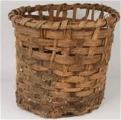 1097 1800s Cotton Basket Used in Gone With The Wind