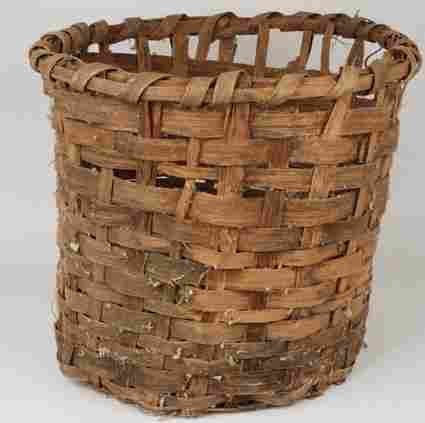 1097: 1800's Cotton Basket Used in Gone With The Wind