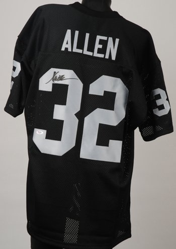 1429: Marcus Allen Signed L.A. Raiders Jersey