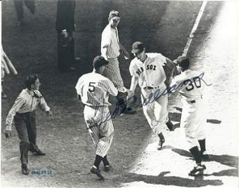 1808: Ted Williams Signed 8 x 10 Photograph