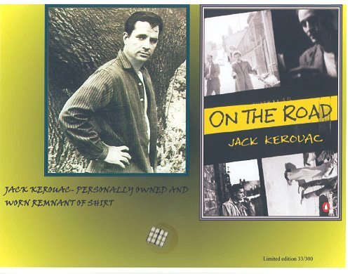 18: Jack Kerouac Clothing Relic Mounted Display