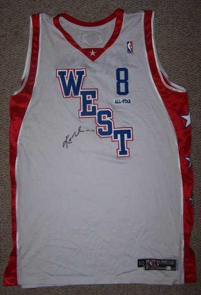 b257fbfd17b 431  03-04 Kobe Bryant AllStar Game Worn Signed Jersey