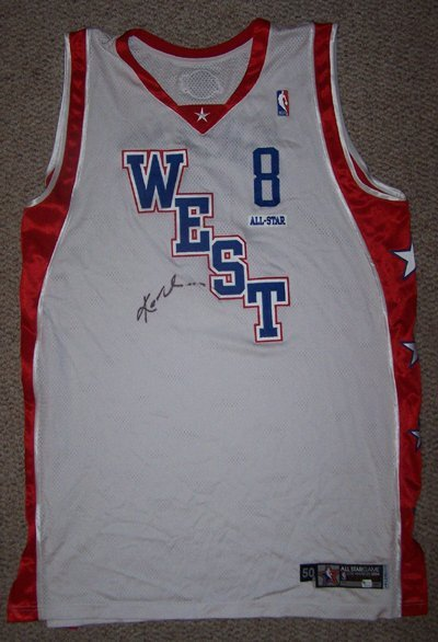 431: 03-04 Kobe Bryant AllStar Game Worn Signed Jersey