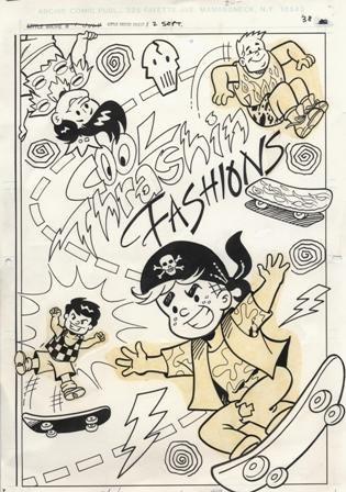 7: Little Archie Production Sketch