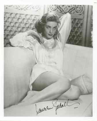 11: Lauren Bacall Signed 8 x 10 Photo